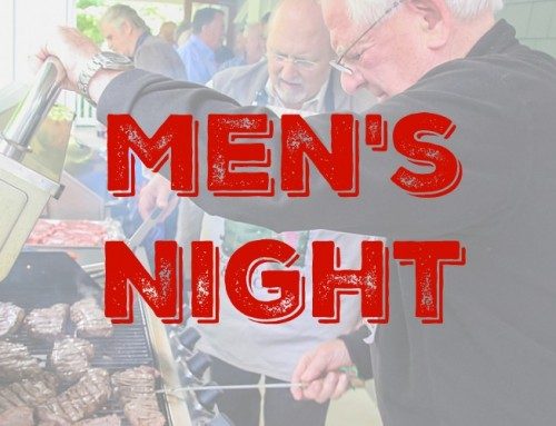 Men's Night Tickets Still Available